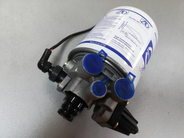 Устройство и принцип работы фильтра осушителя тормозной системы