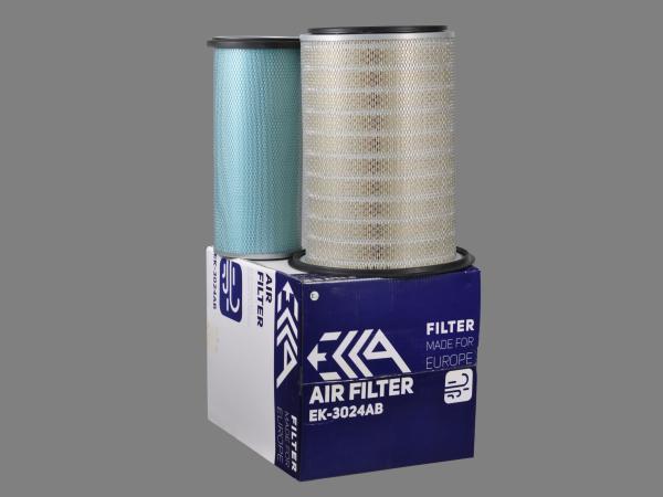 Фильтр воздушный 1628811740 KOMATSU аналог для фильтра EK-3024AB EKKA