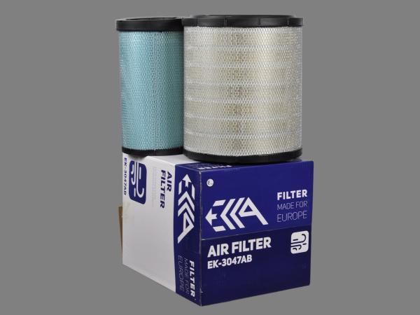 Фильтр воздушный 1221674 CATERPILLAR аналог для фильтра EK-3047AB EKKA