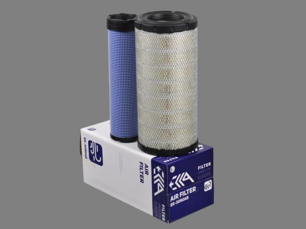 Фильтр воздушный 87438248 CASE аналог для фильтра EK-3090AB EKKA