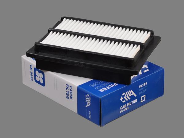 Фильтр кабины 17801-87715 KOMATSU аналог для фильтра EK-5053 EKKA