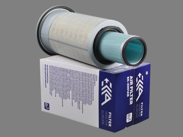 Фильтр воздушный 2474-9053 DOOSAN аналог для фильтра EK-3001AB EKKA